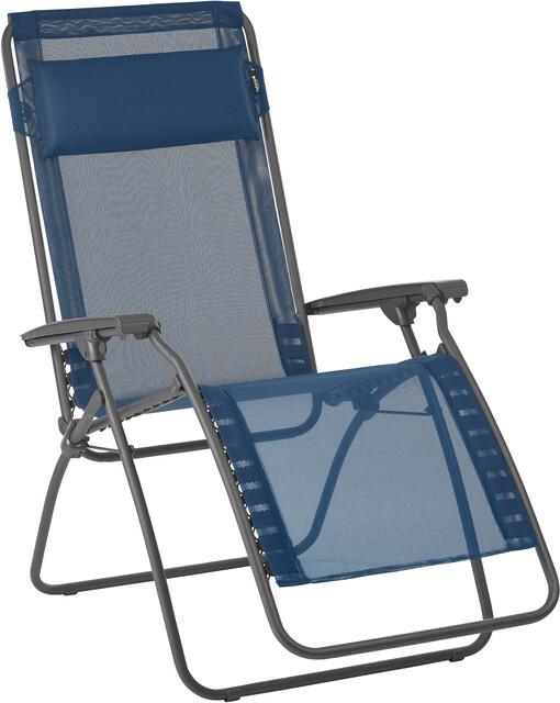 Lafuma Mobilier R Clip Chaise longue avec Cannage Phifertex, ocean